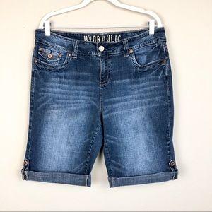 Hydraulic 5 pocket Jean Shorts w/ cuff 16W